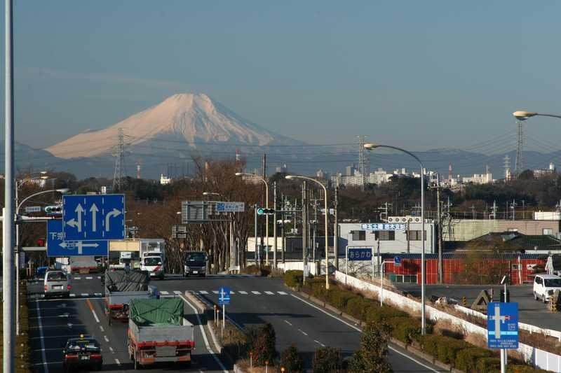柳瀬川富士見橋付近