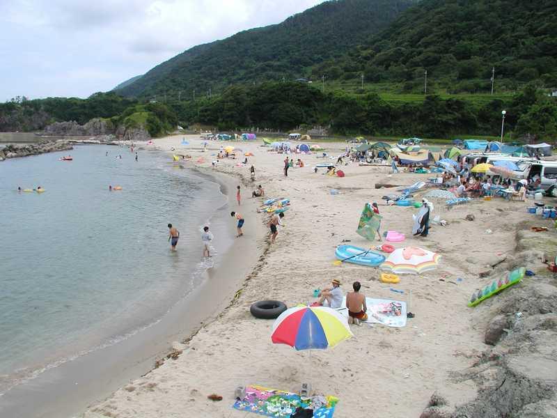 中浜海水浴場