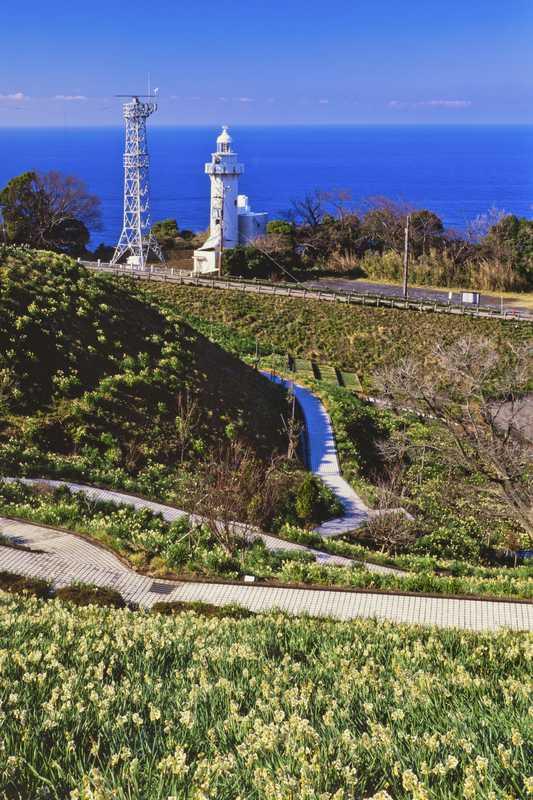越前岬灯台付近
