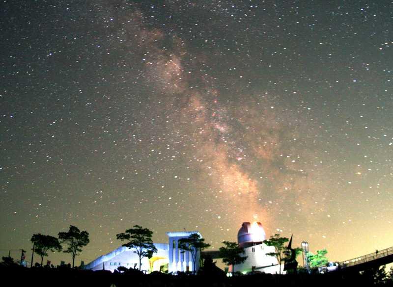 田村市星の村天文台プラネタリウム館