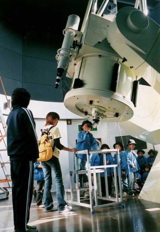 にしわき経緯度地球科学館「テラ・ドーム」