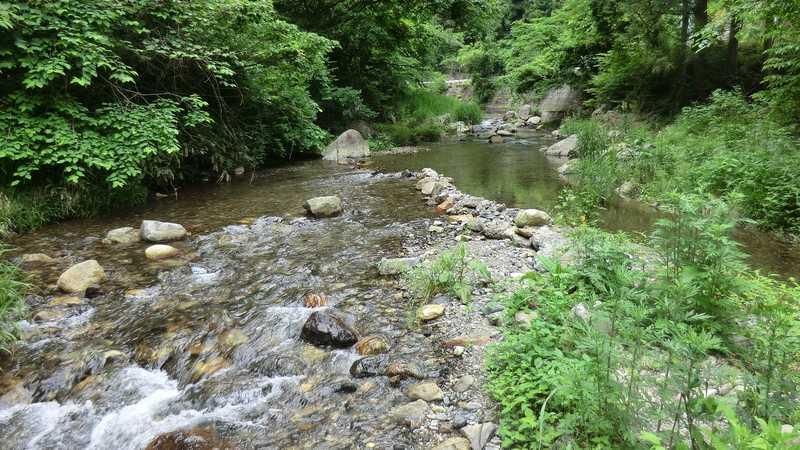 筒賀川流域