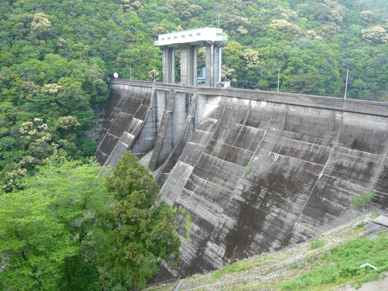 七川ダム湖