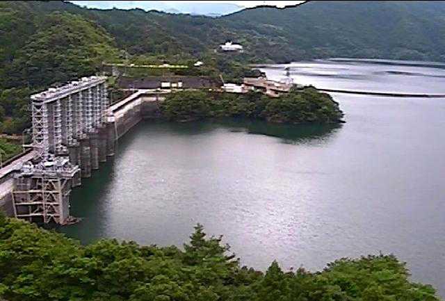 早明浦ダム湖