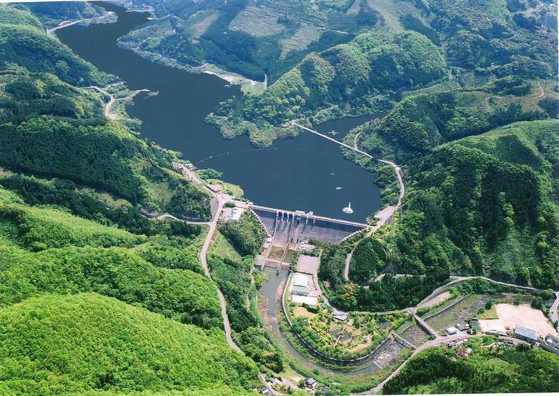 耶馬溪ダム湖