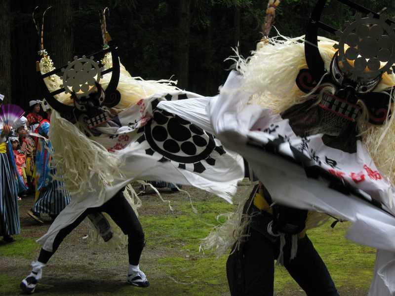 遠野郷しし踊り