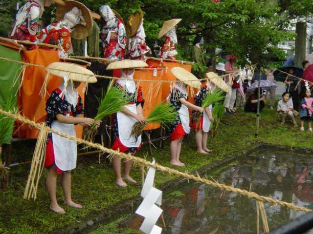 会津坂下の御田植祭