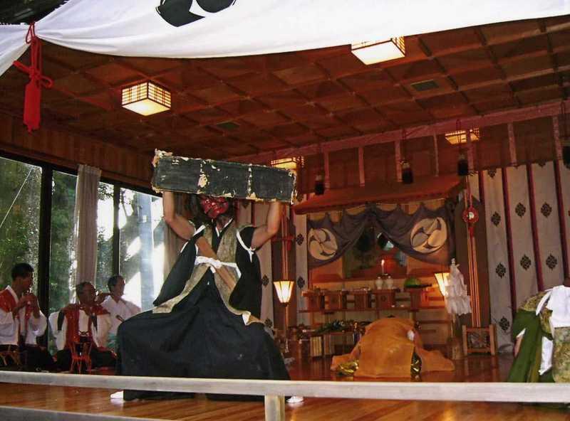 浮島神社太々神楽