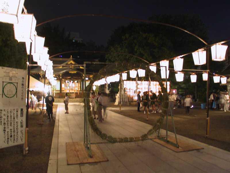 福島稲荷神社夏越大祓人形祭