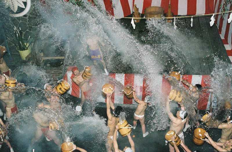 川原湯温泉湯かけまつり