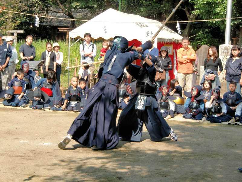 氷川神社節分祭