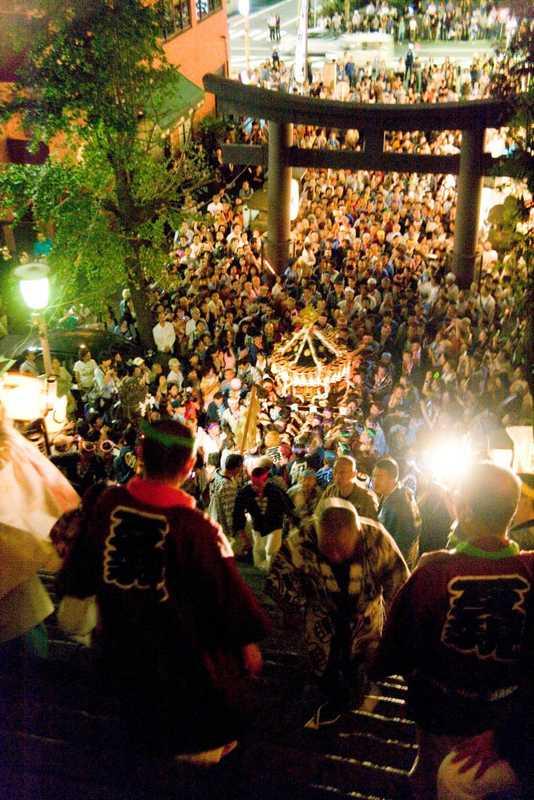 愛宕神社例大祭出世の石段祭り