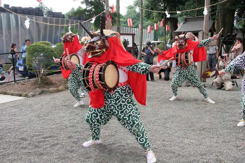 三増の獅子舞