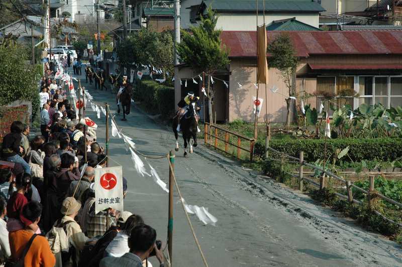 室生神社の流鏑馬