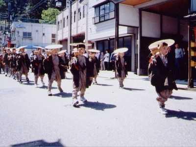 諏訪神社春季大祭大名行列