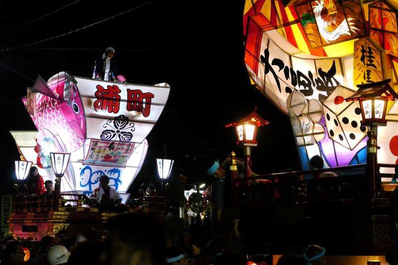 岩瀬曳山車祭