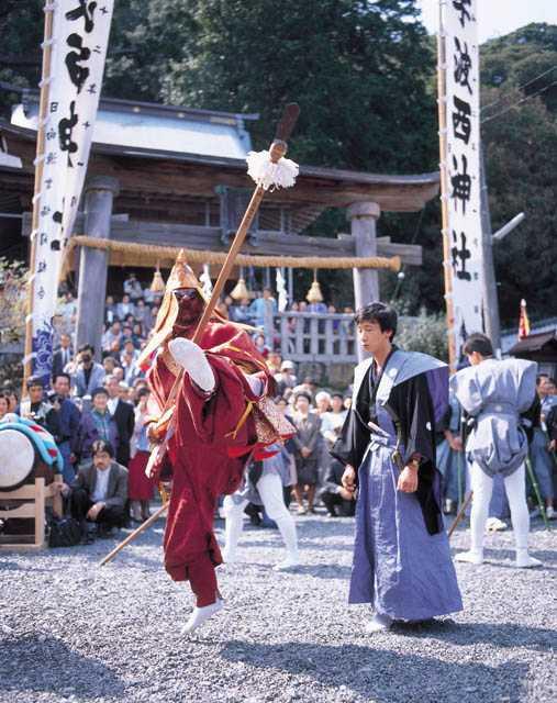 宇波西神社例祭