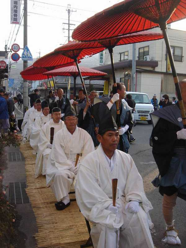 武水別神社大頭祭