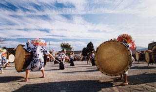 表佐の太鼓踊り