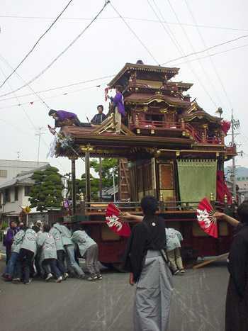 垂井曳山祭