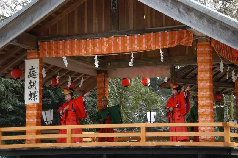天宮神社十二段舞楽奉納