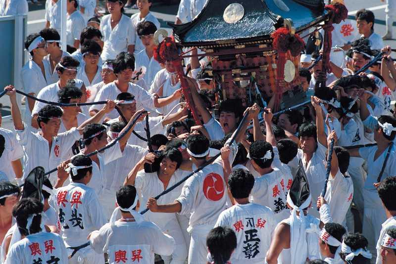 焼津神社大祭 荒祭