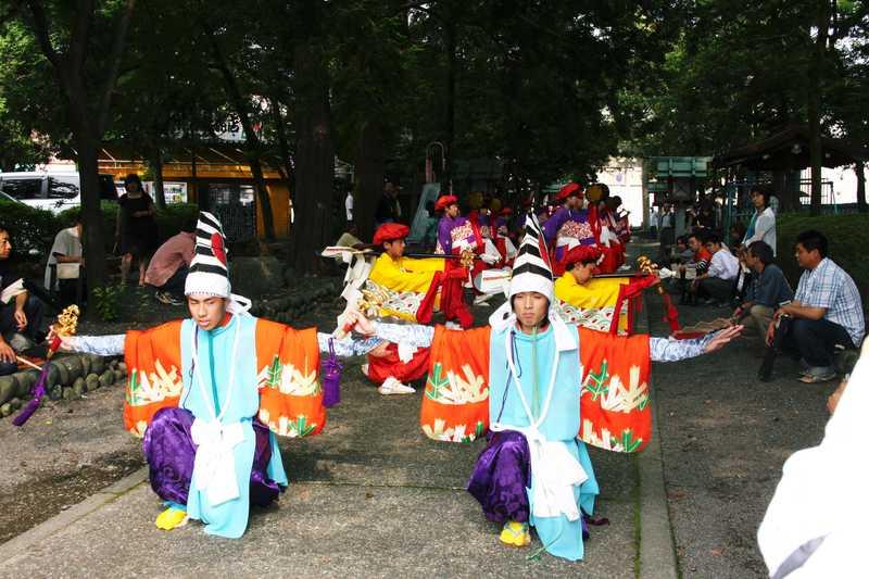 鹿島踊りの画像
