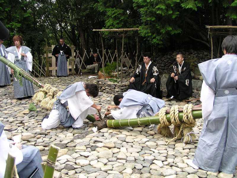 近江中山の芋競べ祭り