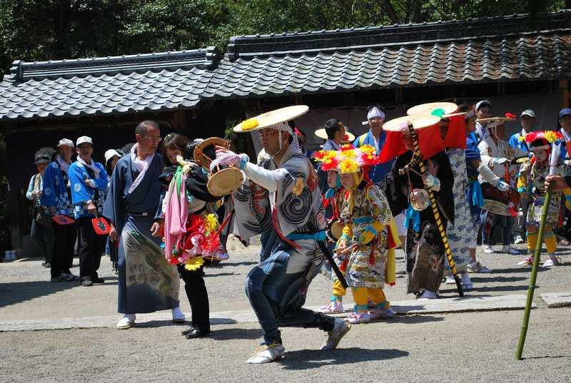 下笠のサンヤレ踊り
