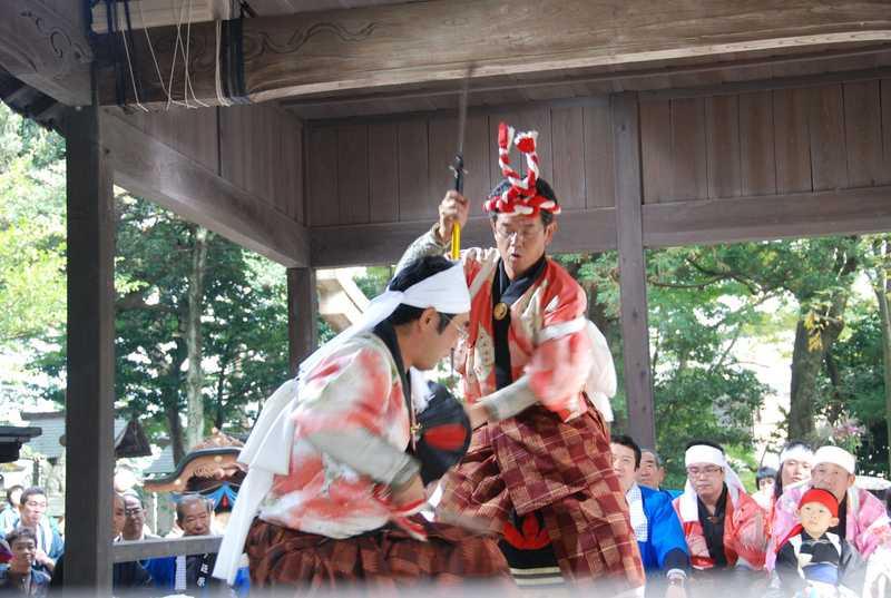 河辺八幡神社祭礼芸能