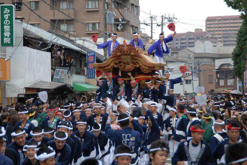 泉大津秋祭り
