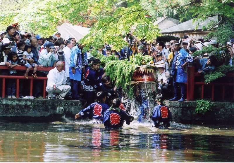 原の蛇祭り