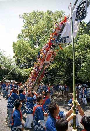 日根神社まくら祭り