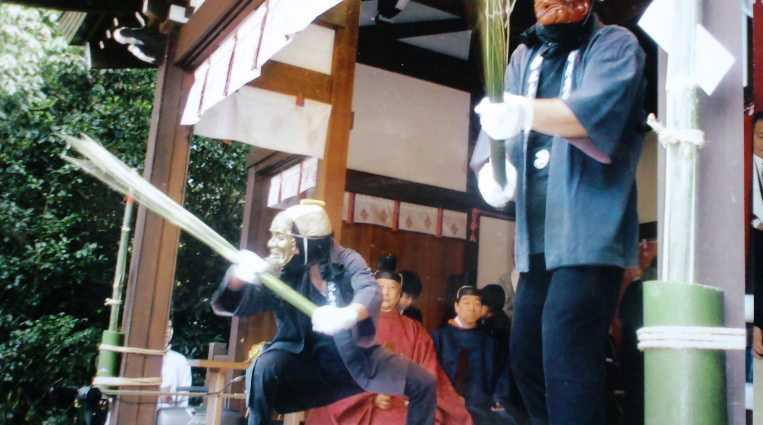 飛鳥坐神社おんだ祭