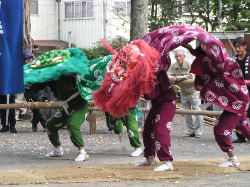琴路神社秋祭り
