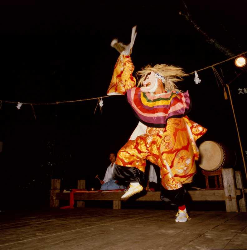 長野岩戸神楽春の大祭・秋の大祭