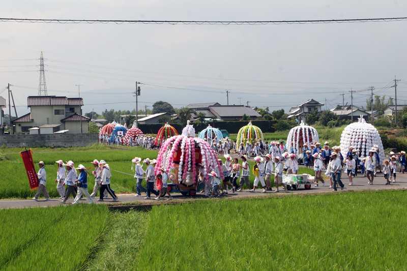 鶴市花笠鉾祭り