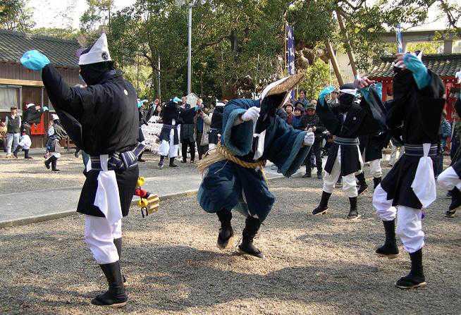 山宮神社春祭り