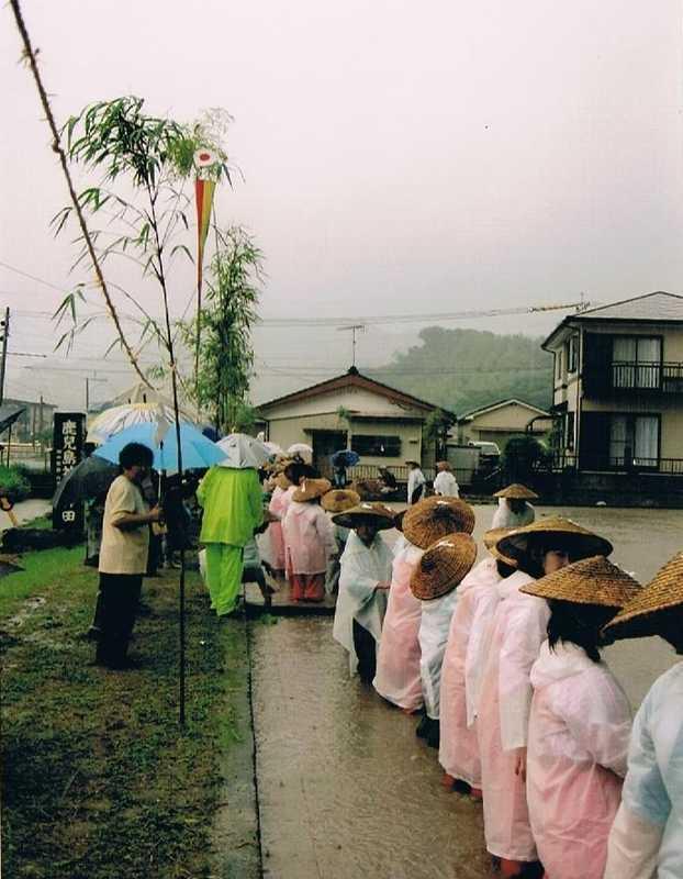 鹿児島神宮御田植祭