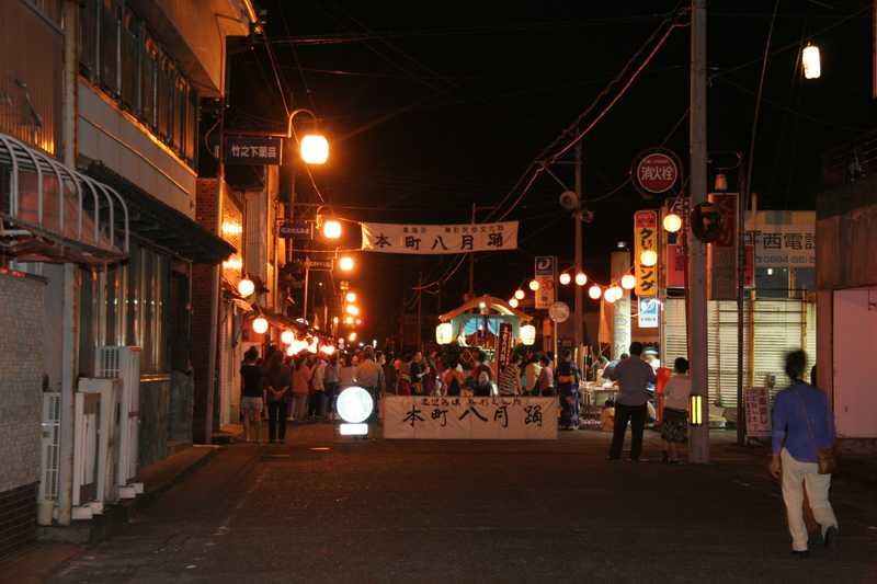 本町の八月踊