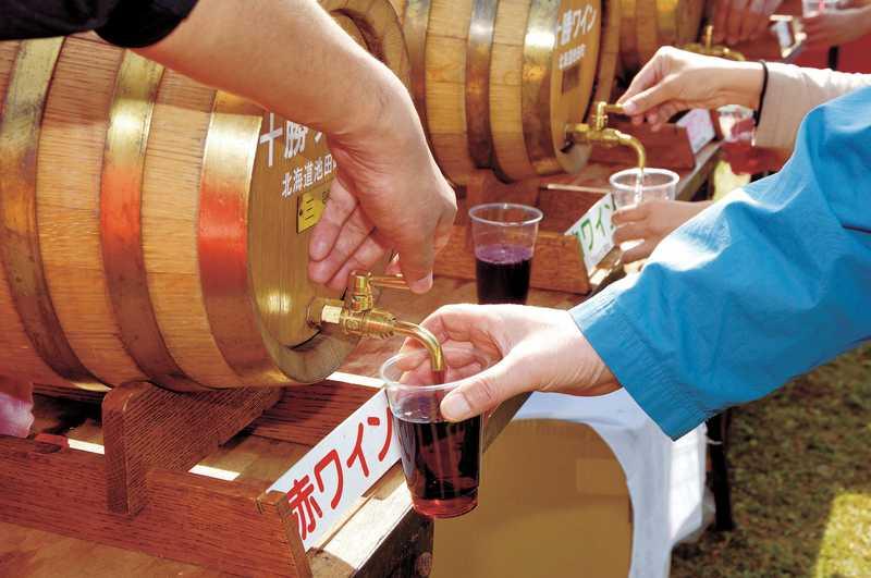 秋のワイン祭り