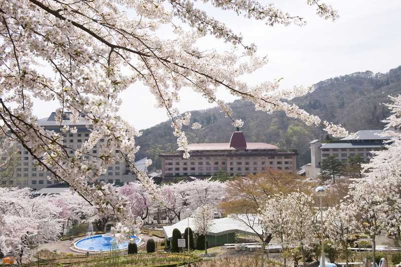 花巻温泉春の桜祭り