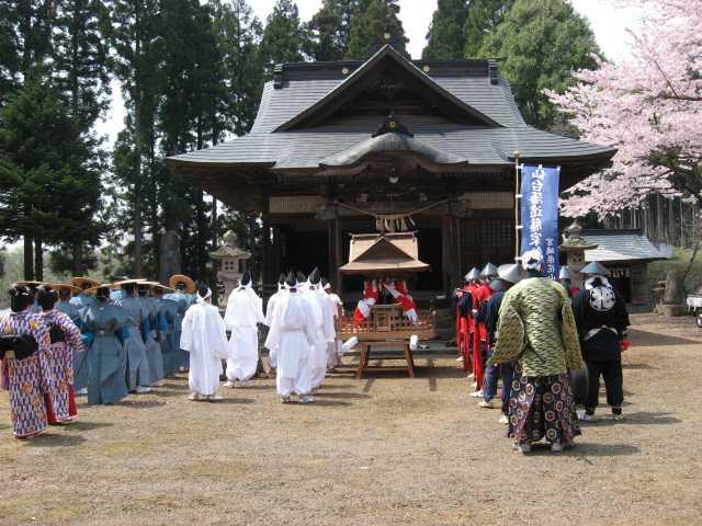 花山鉄砲祭り