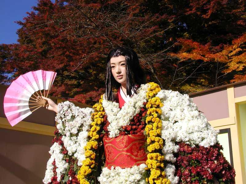 二本松の菊人形