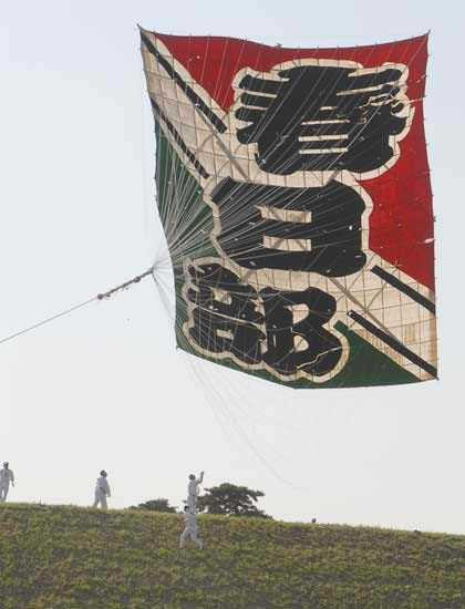 日本一庄和の大凧あげ祭り