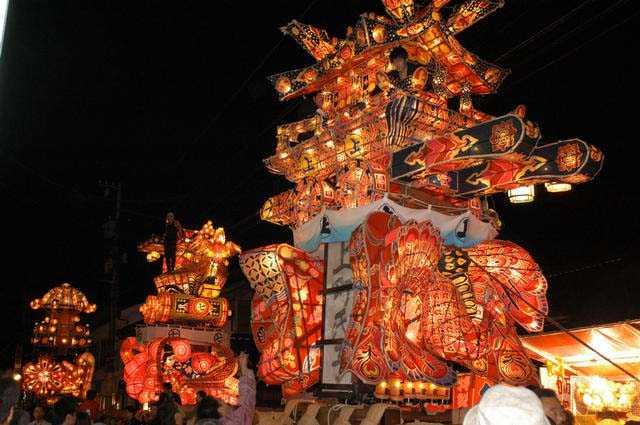 福野夜高祭の画像