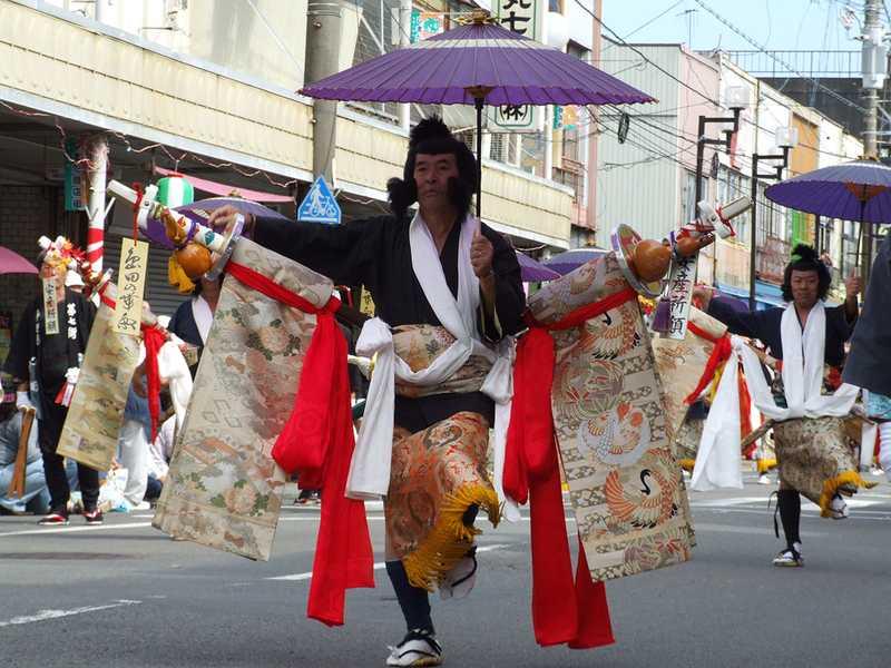 島田大祭帯祭り