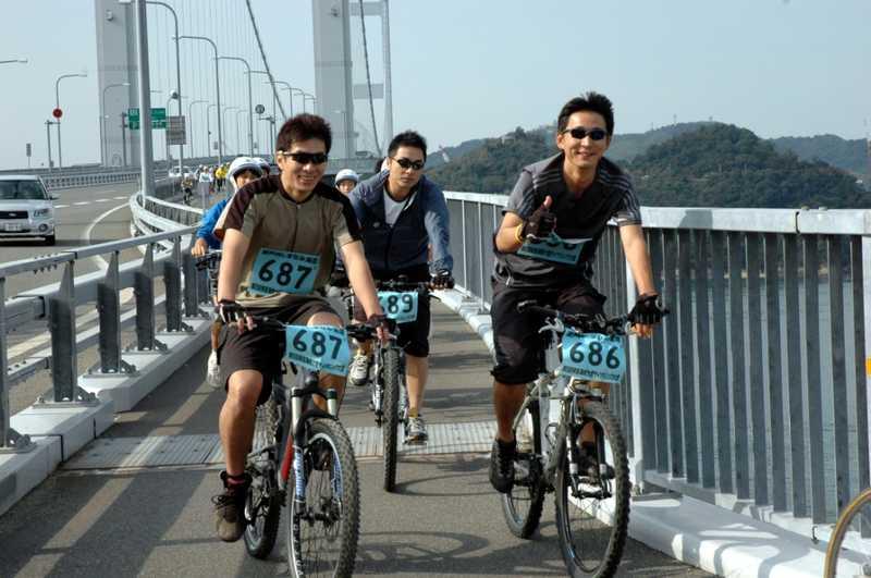 来島海峡大橋サイクリング大会