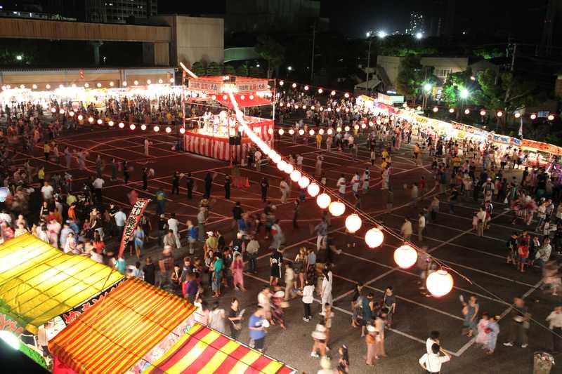 苅田町盆踊り大会