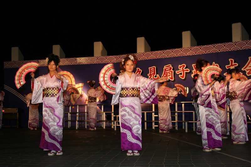 津久見扇子踊り大会